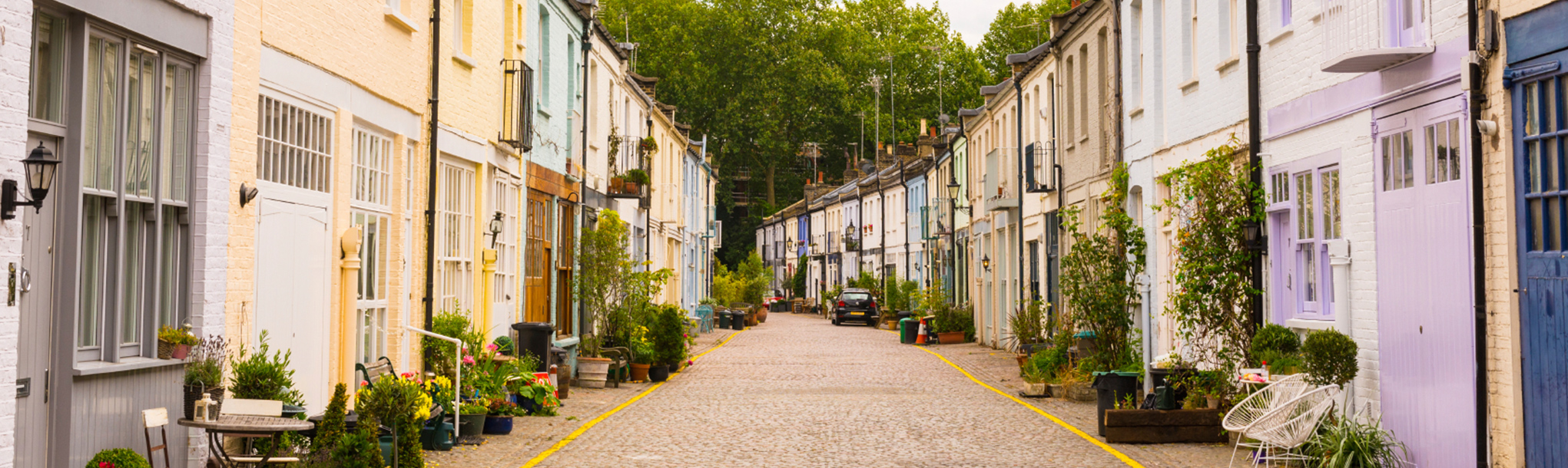Photo of mews row of houses